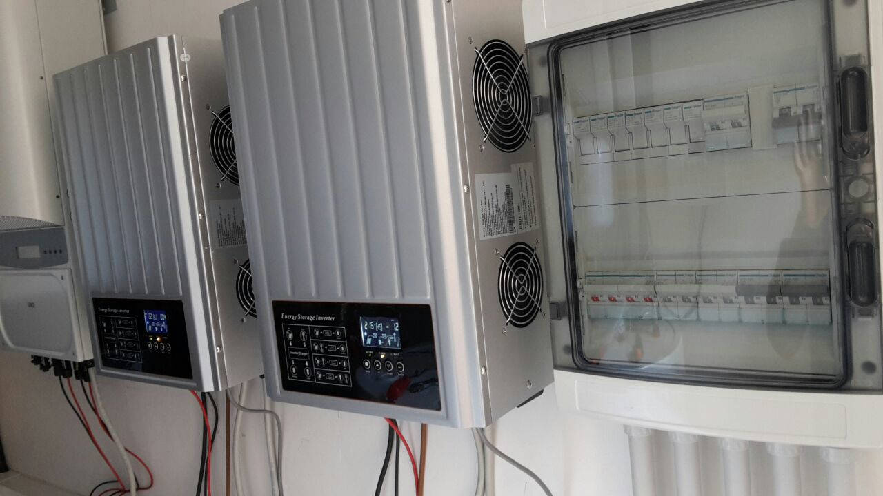 PH3000 series on off grid solar inverter parallel function installation