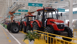 Tractor Assembly line