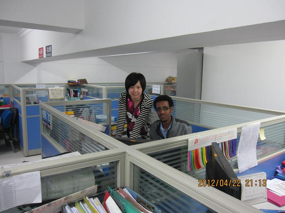 Customer Visit Our Campany and Factory 1