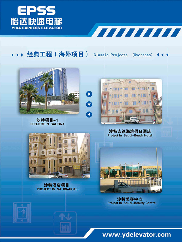 classic project in oversea market