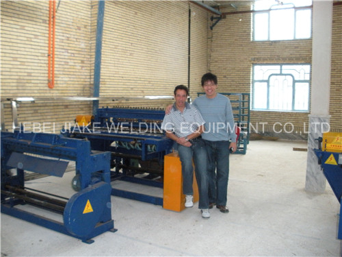 Steel fence mesh welding machine