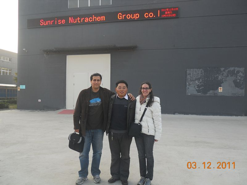 Peru Customer's Visiting