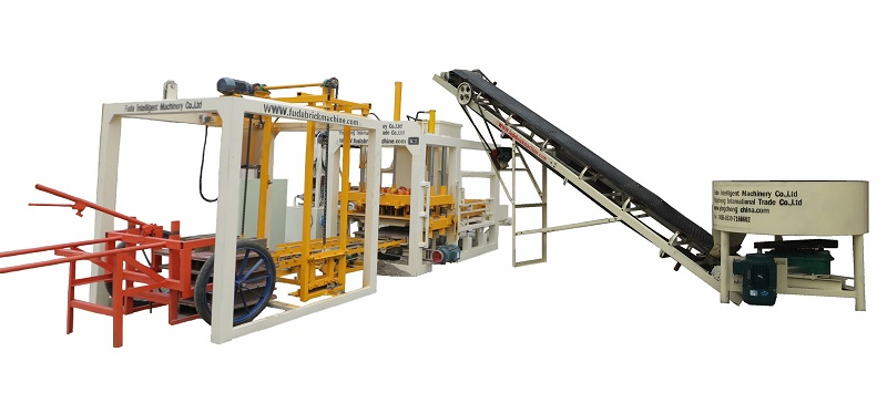 QT4-18 hot sale automatic and hydraulic cement block production line