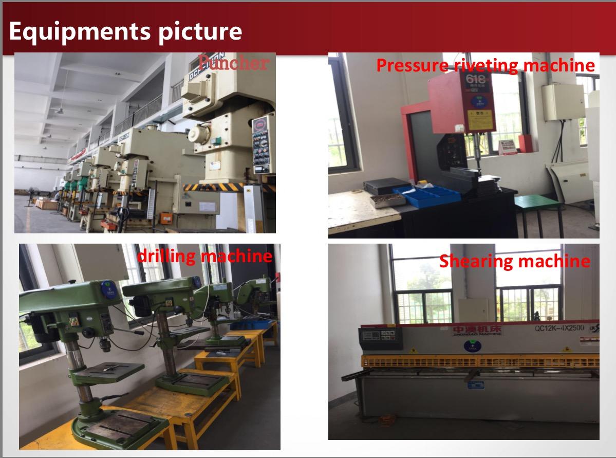 Equipment photos