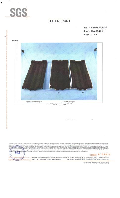 SGS certificate 3