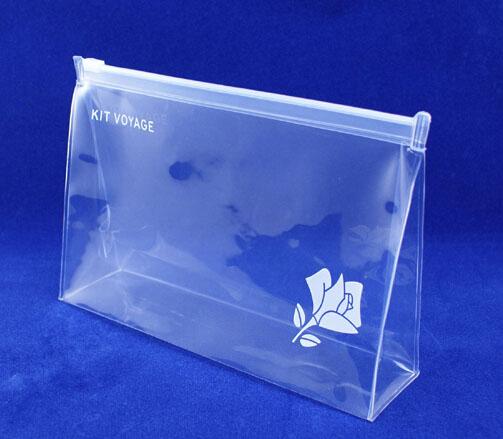Custom Clear pvc zipper bag