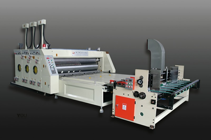 Carton Printing and Slotting Machine