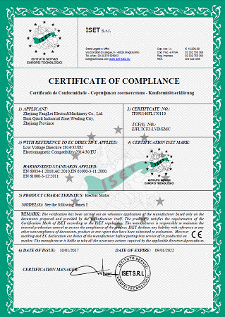 three pahse CE certificate