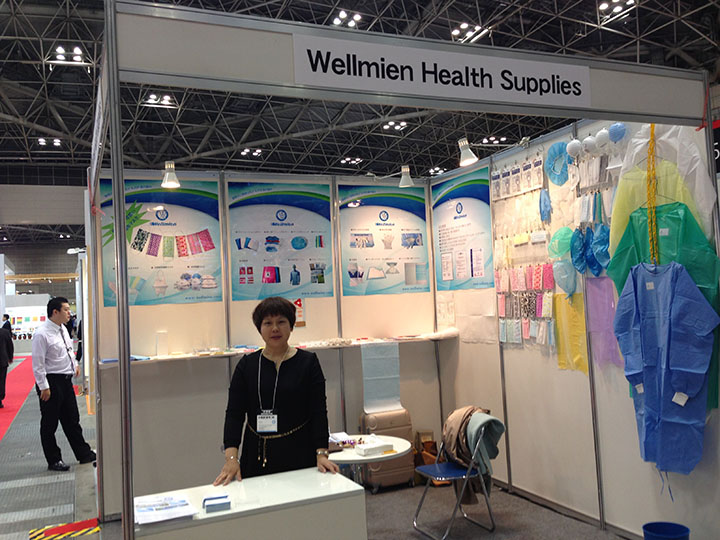 Wellmien attended the HOSPEX EXHIBITION 2014 which was held in Japan,TOKYO