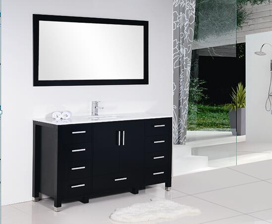 black matt Chipboard Painting Cabinet