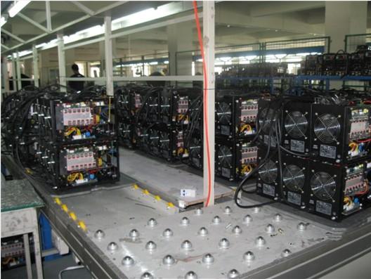 inverter machine assembly line