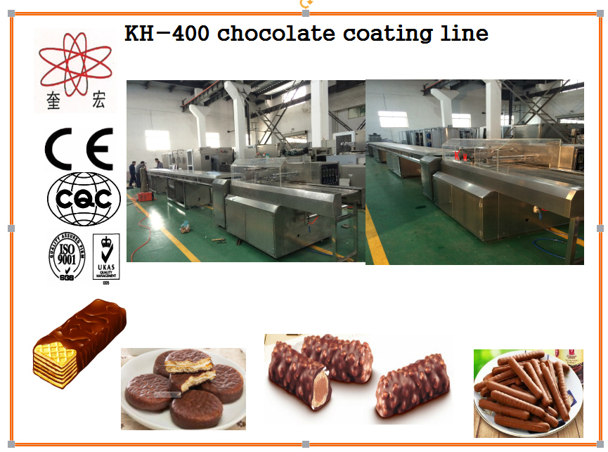 KH 400 small chocolate coating machine