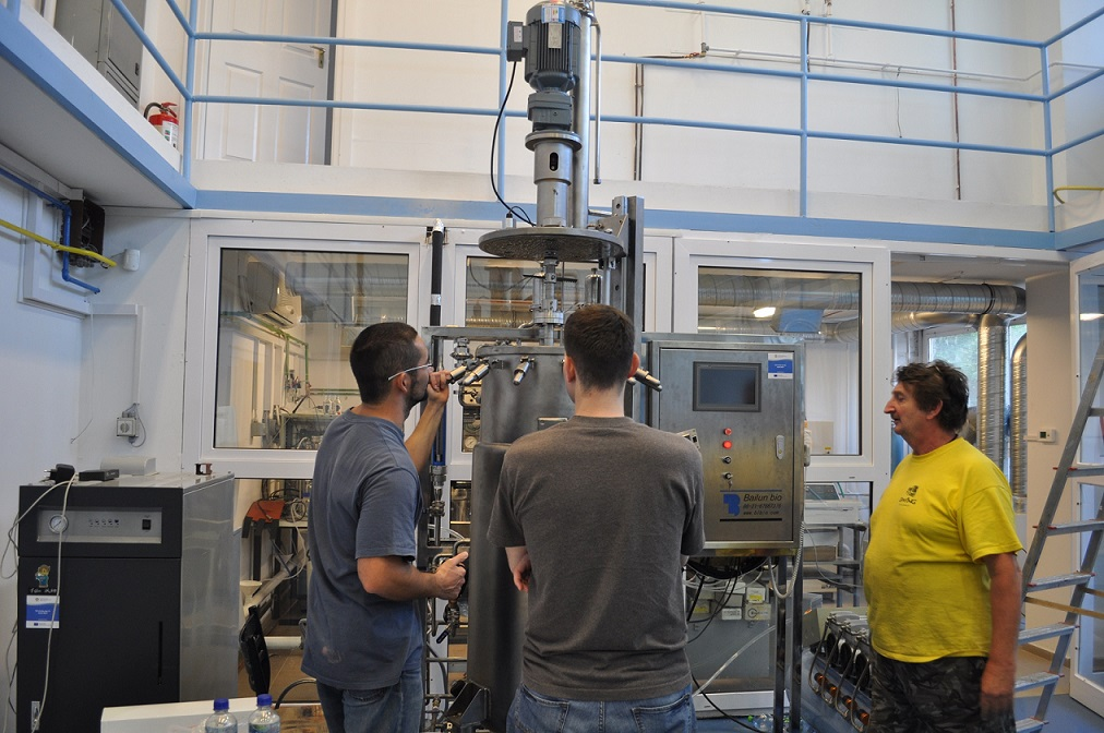 150 Liters Stainless Steel Fermenter (Mechanica stirring) in Hungary