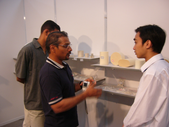 Other countries customer's visit