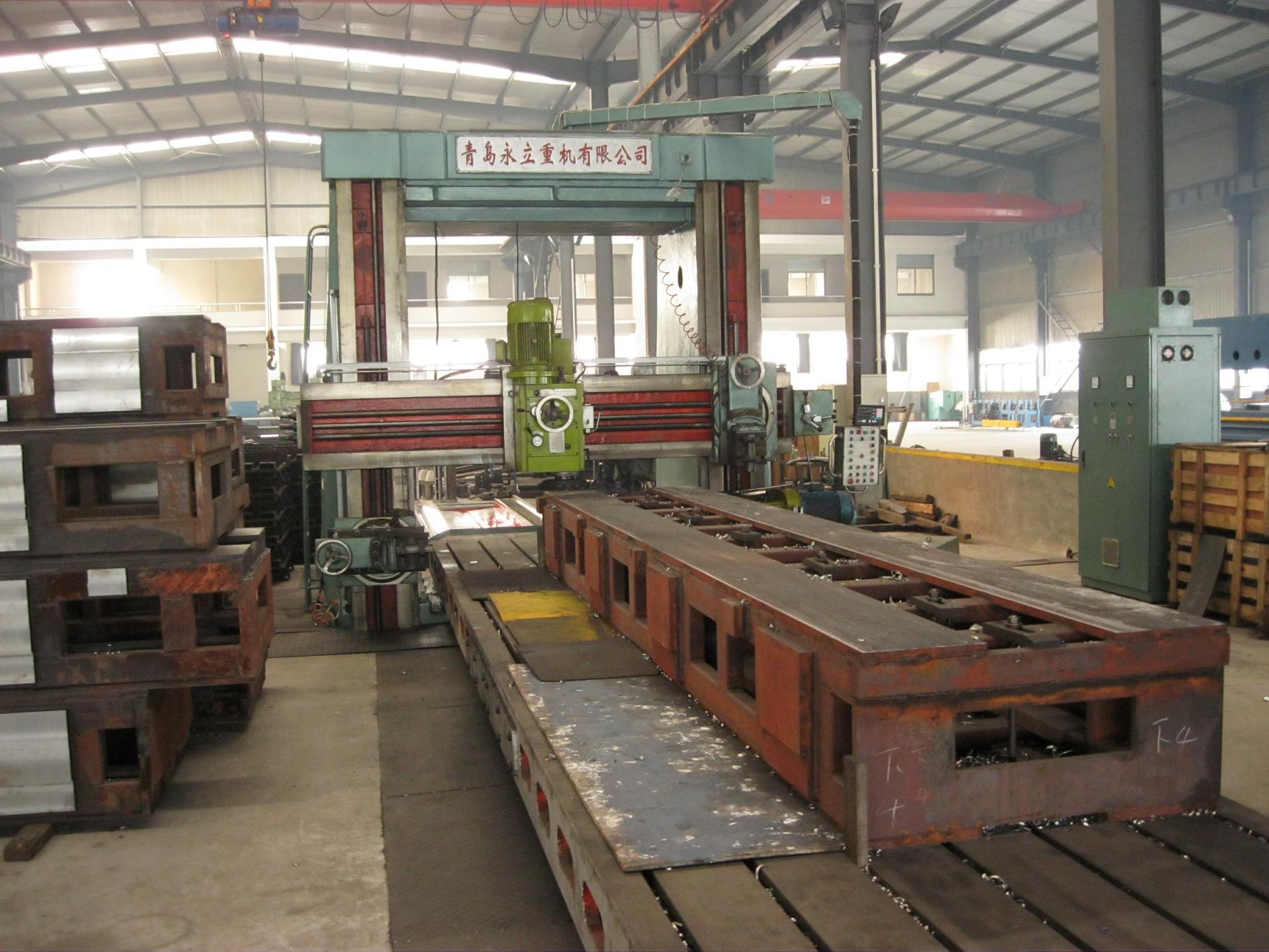 10m Frame Slotting & Milling Machine