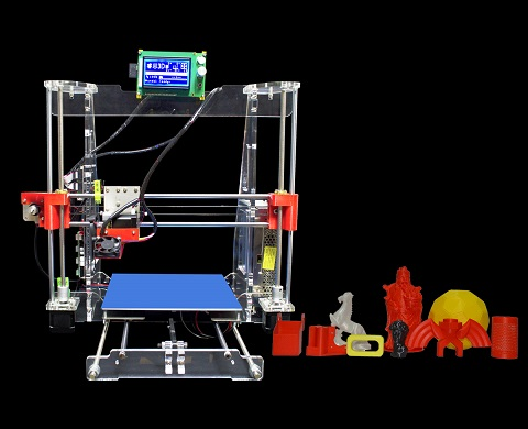 High Quality Easy Assemble 3D Printer Machine Prusa I3 3D Printer Kit DIY
