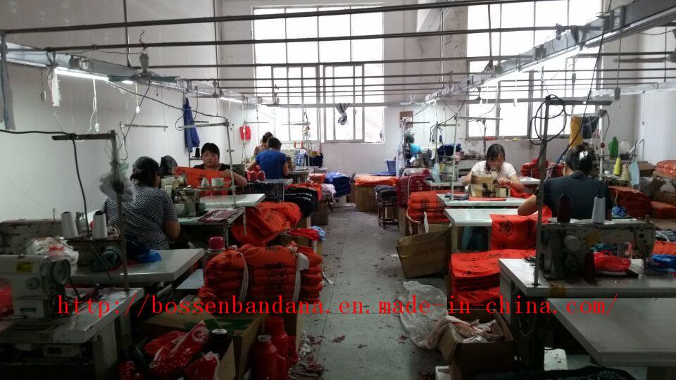 Sewing---Bandana production