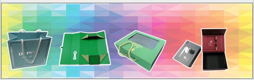 gift box and paper bag