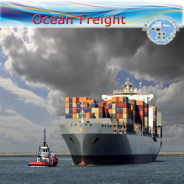 International seafreight (FCL / LCL);