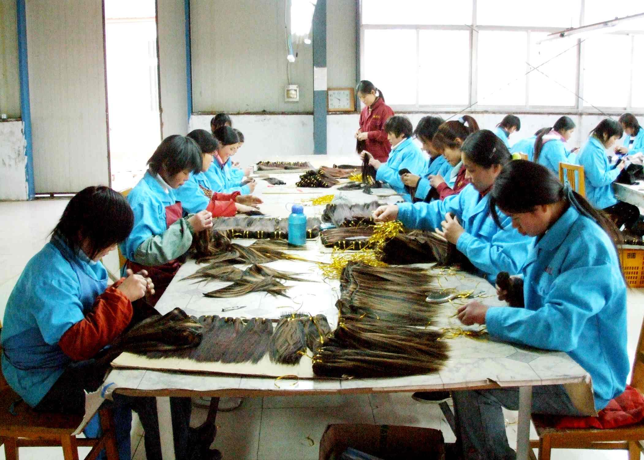 Full Experience Hair Manufacture Human Hair