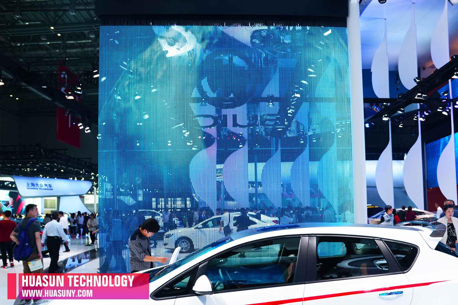 Apollo-25 Creative led display in 2015 Shanghai Inter Auto Show