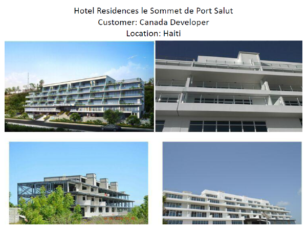 5 Star Hotel Projects in Haiti for a Canada Developer