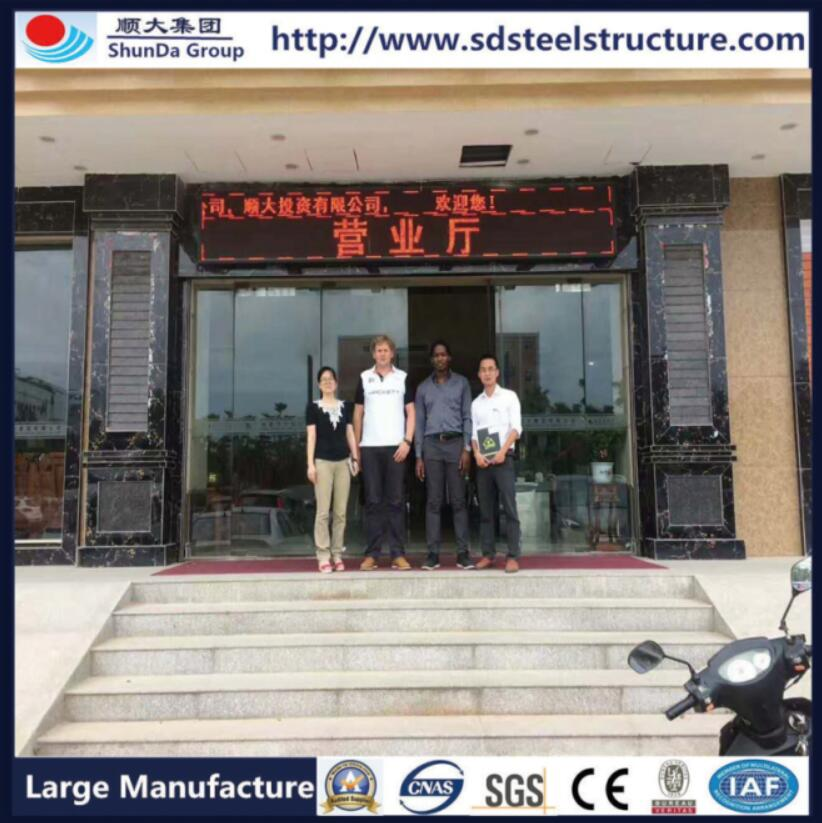 Client who visit our Guangzhou booth visit our factory
