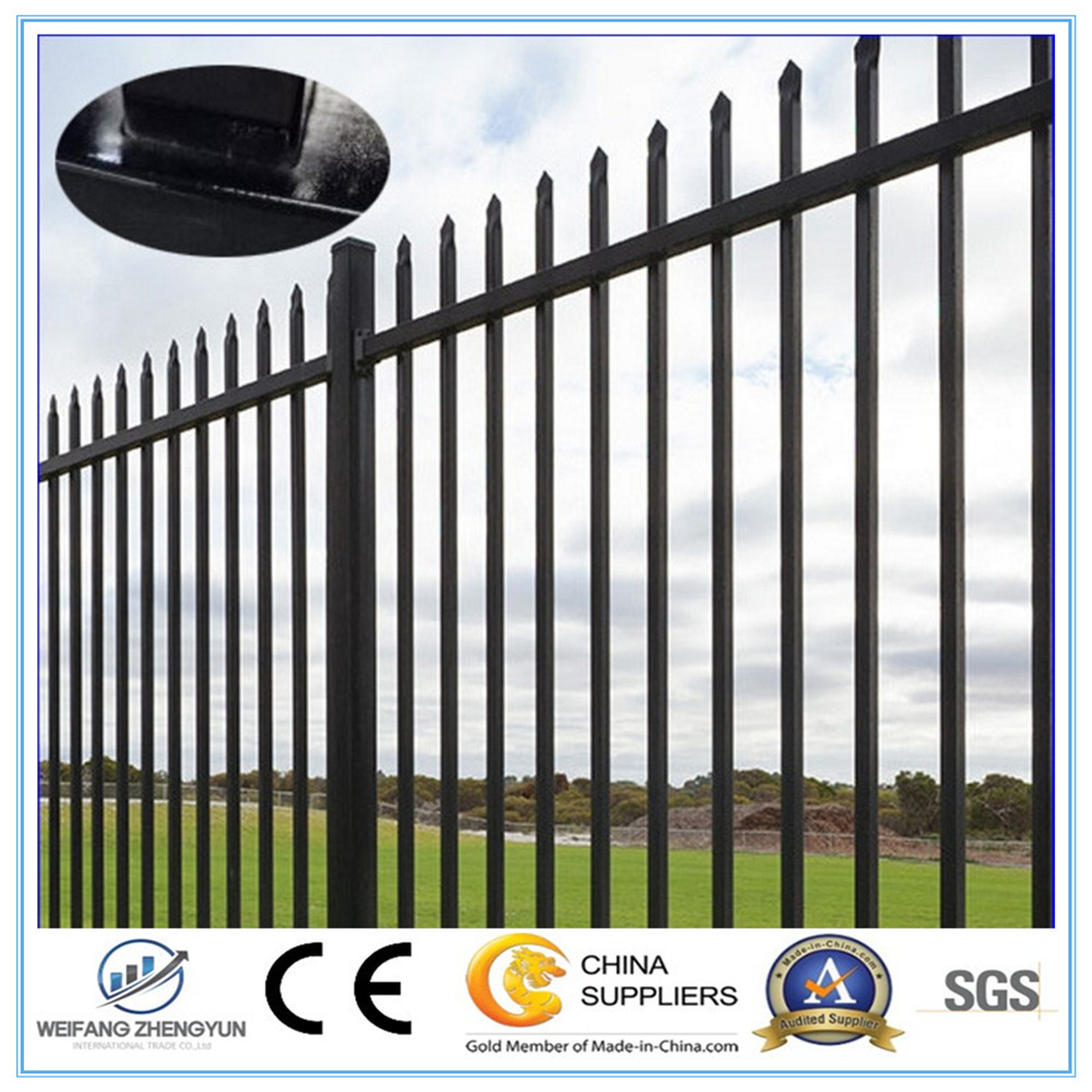 Good Quality Colors Garden fence / Steel Fence