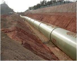 DN2000 FRP pipe for Water supply