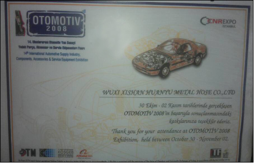 AOTOMOTIVE Exhibition in Turkey
