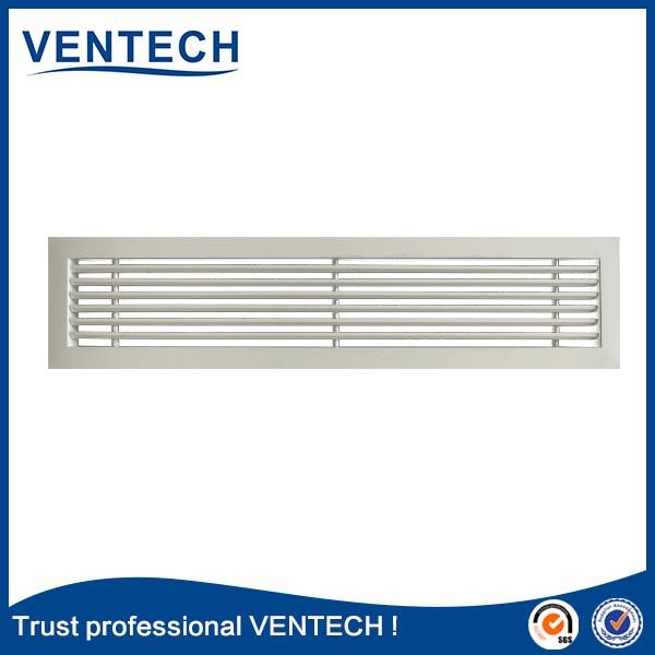 air register grille aluminium linear bar grille
