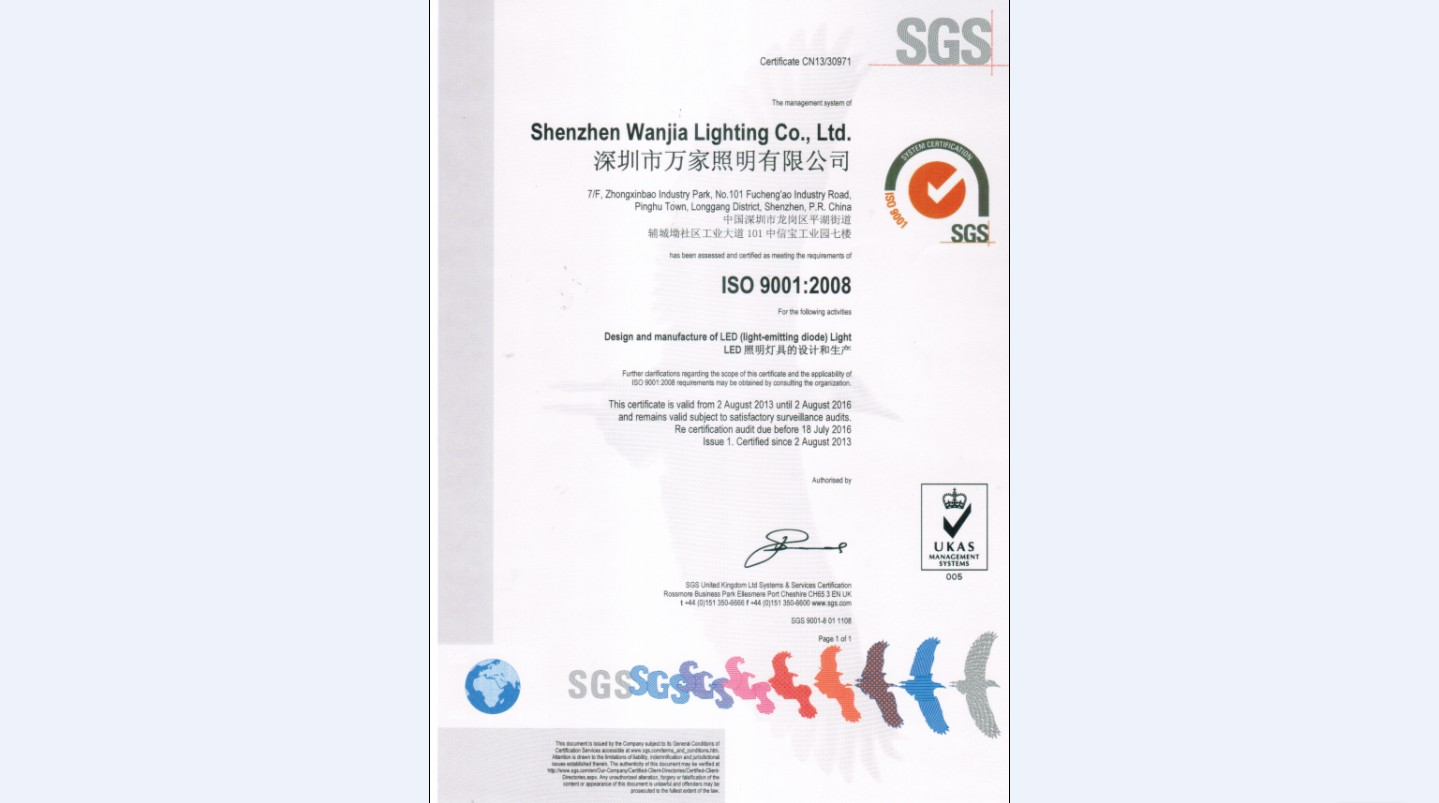 ISO9001:2008 Approved