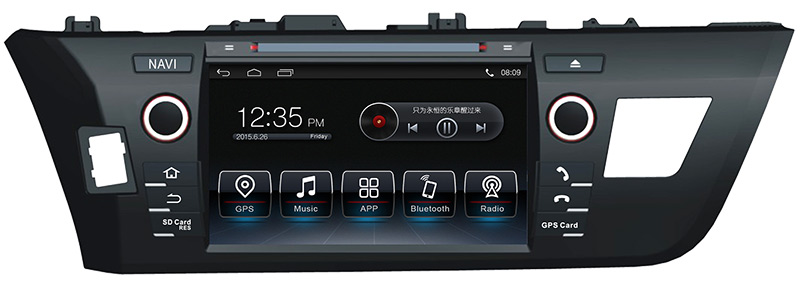 Andriod system Toyota COROLLA Dvd Player