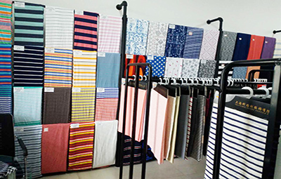 Showroom of samples