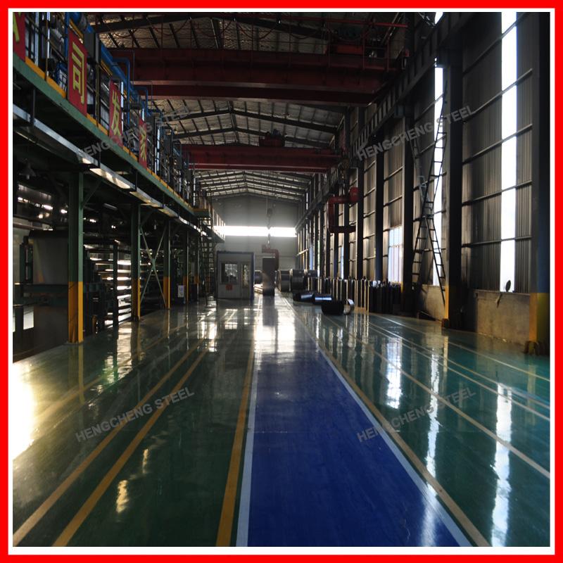 Galvanized Steel Coils Workshop