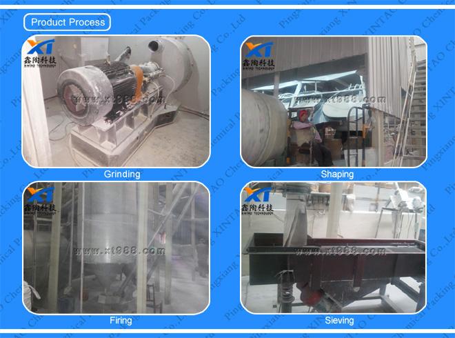 Product process-Activated Alumina