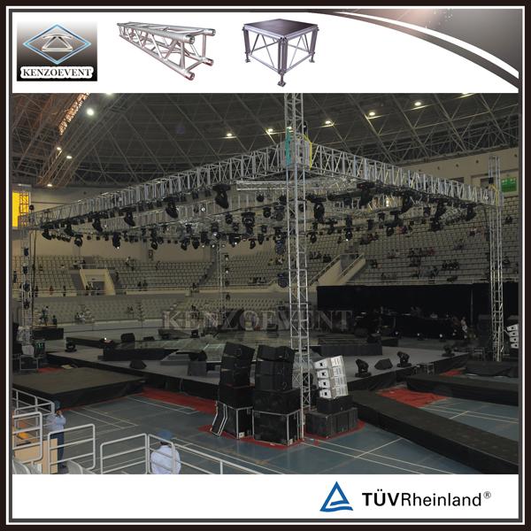 Lighting Tower Truss for Indoor Performance