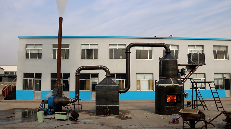200kg/h Waste Incinerator Passed the Final Test and Inspection
