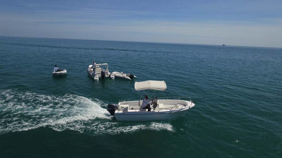 Liya Fishing Boat 5.1m Fiberglass Hull panga boat for Sale