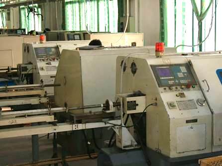 Cylinder material cutting