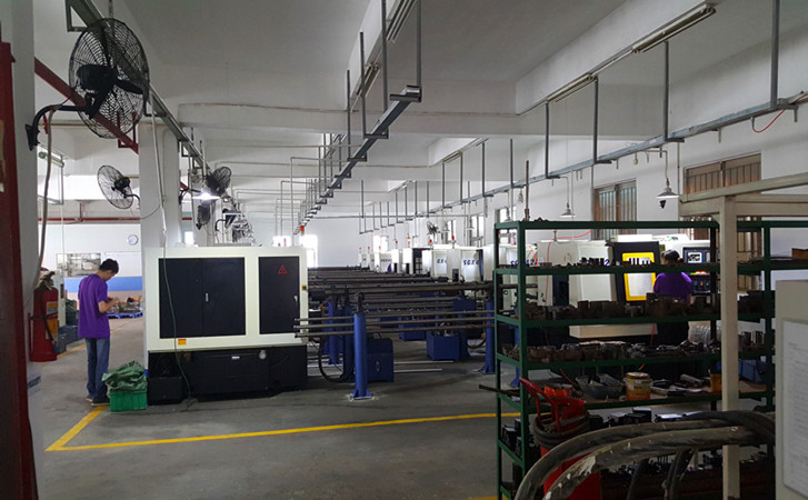 Lathe machine workshop