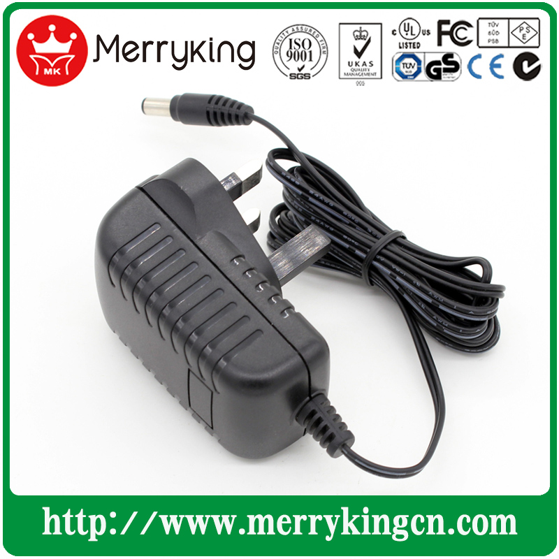 12V1a AC/DC Adapter 12W Switching Power Supply (UK, AU, US, JP, EU)