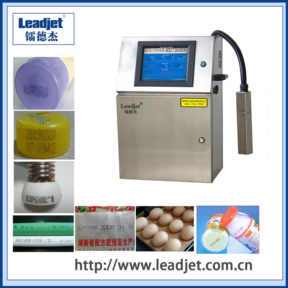 Leadjet V98 industrial CIJ inkjet batch date printer supplier