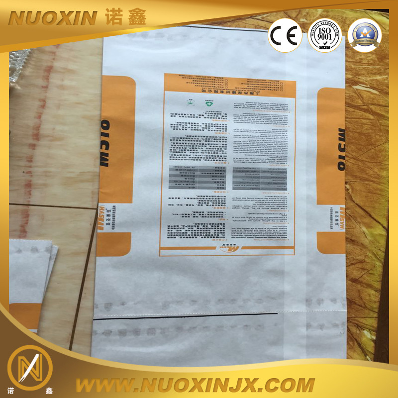 Cement paper printing sample