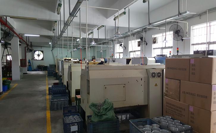 Digital lathe machine workshop