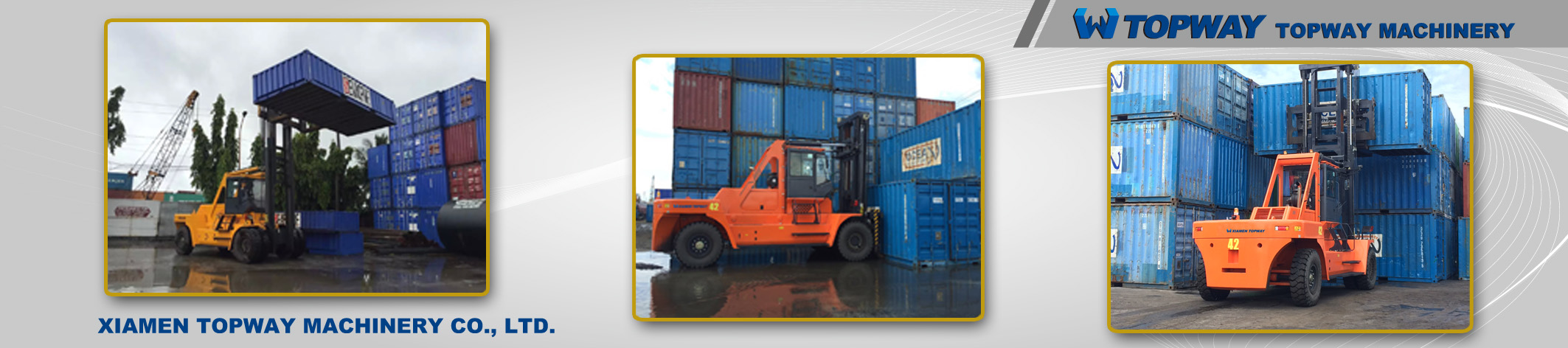 Container forklift export to Philippines