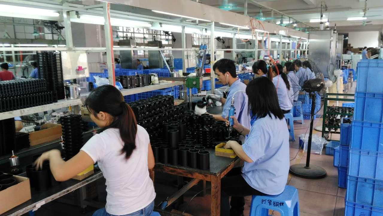 Pump assembly line