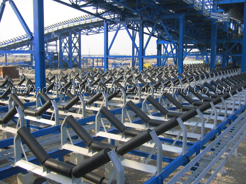 Belt conveyor System Project for Coal