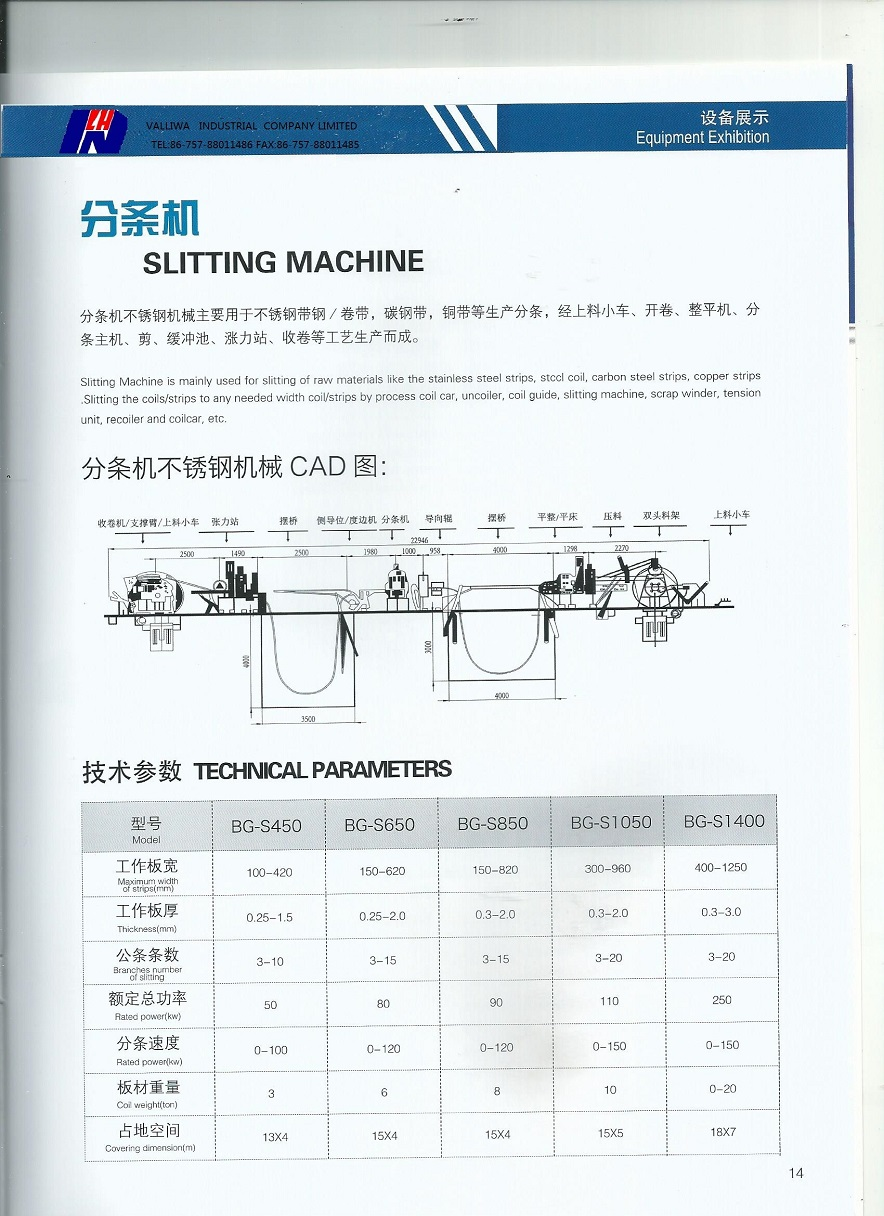 Catalogue for stainless steel pipes