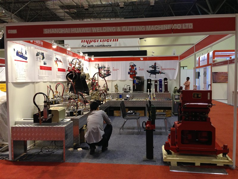 HUAWEI attend 2013 Weld India Show